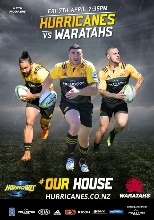 Hurricanes vs Waratahs Match Programme