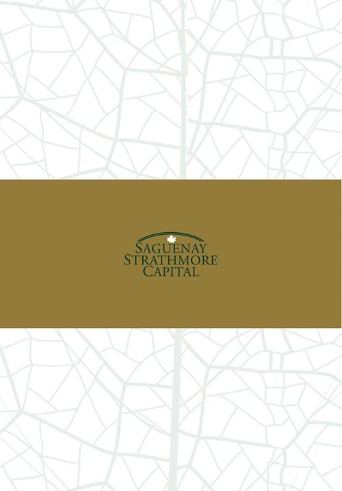 Saguenay Strathmore Capital