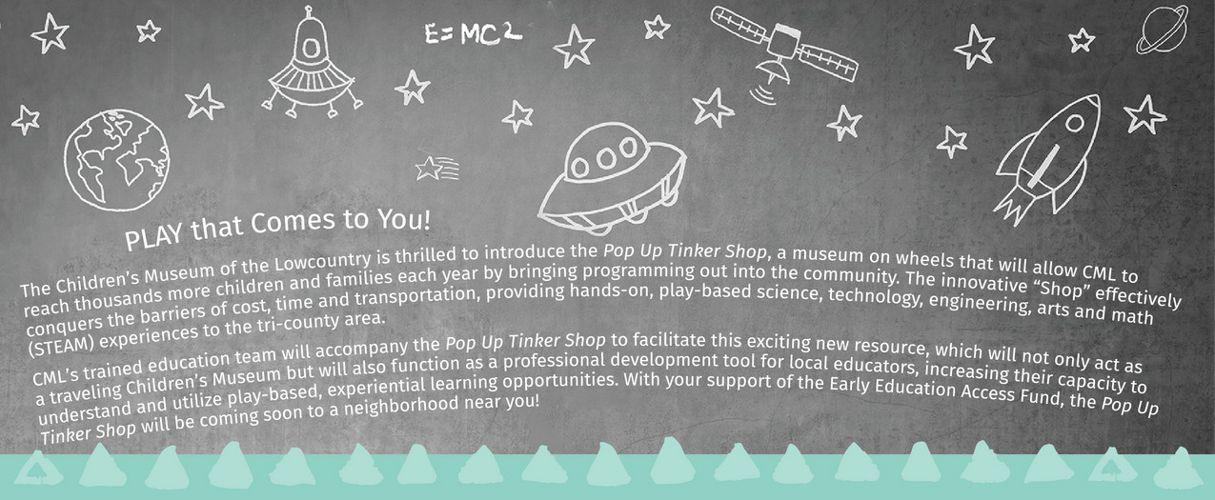 Pop Up Tinker Shop