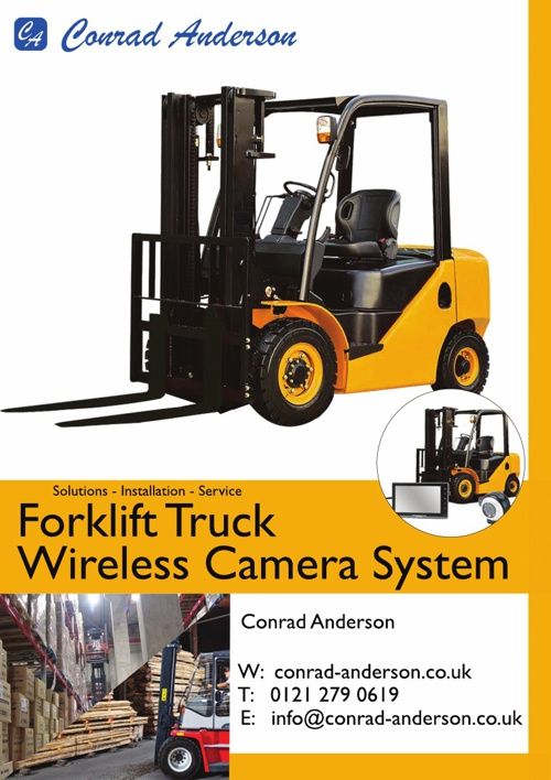 Forklift Truck Wireless Camera System Brochure