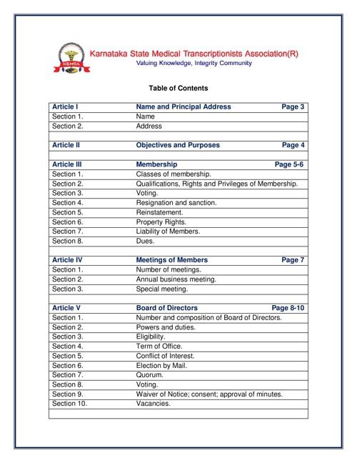 Karnataka State Medical Transcriptionists Association(R)