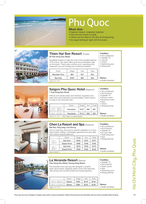 Hotel - Phu Quoc