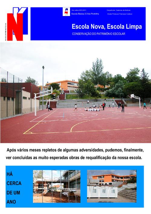 Jornal do Agrupamento de Escolas da Pontinha 1ªParte