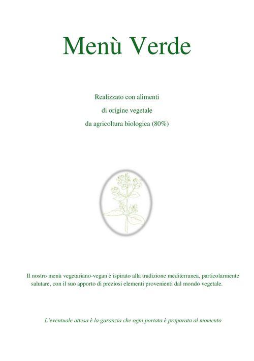 Menù Verde hotel benigni ok