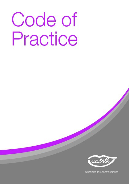 Code of Practise