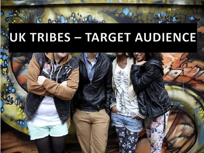Target Audience - UK Tribes