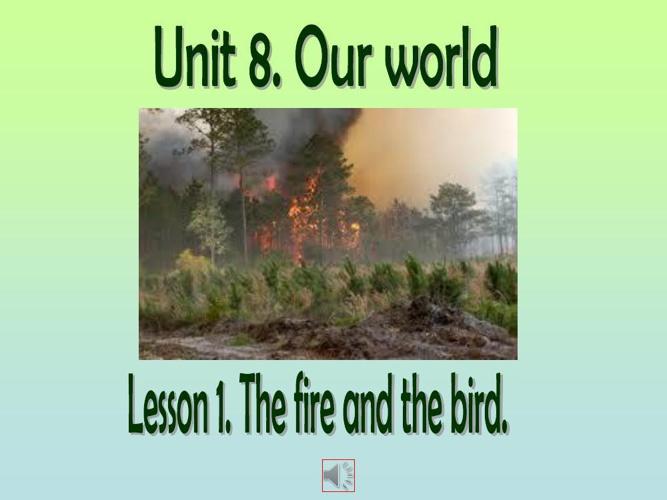 Unit 8. Lesson 1.