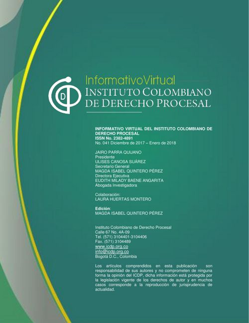 Informativo No.41
