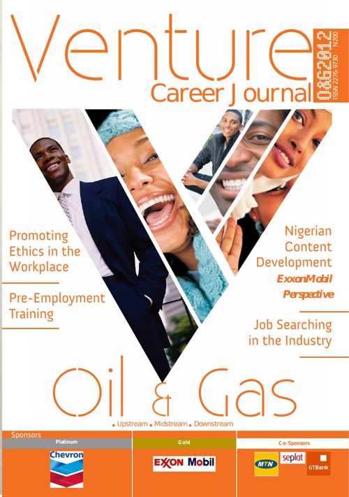 Venture Career Journal - Oil & Gas, 2012