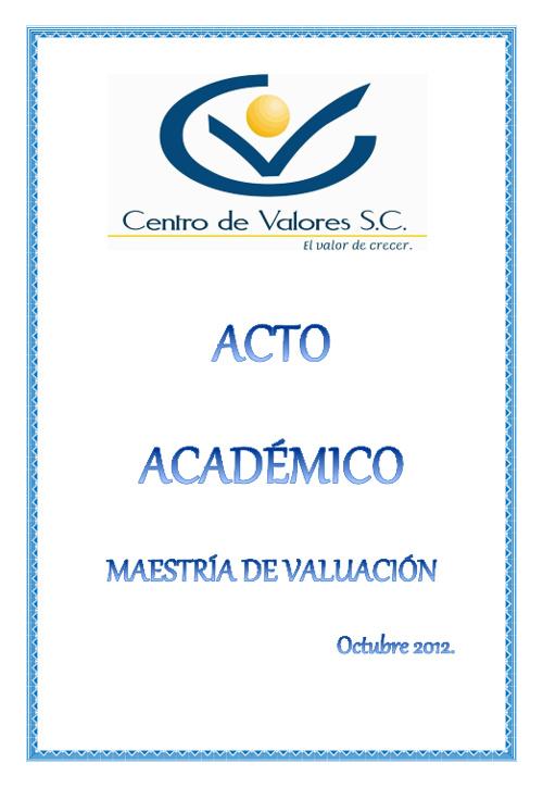 Invitación Maestría 2012