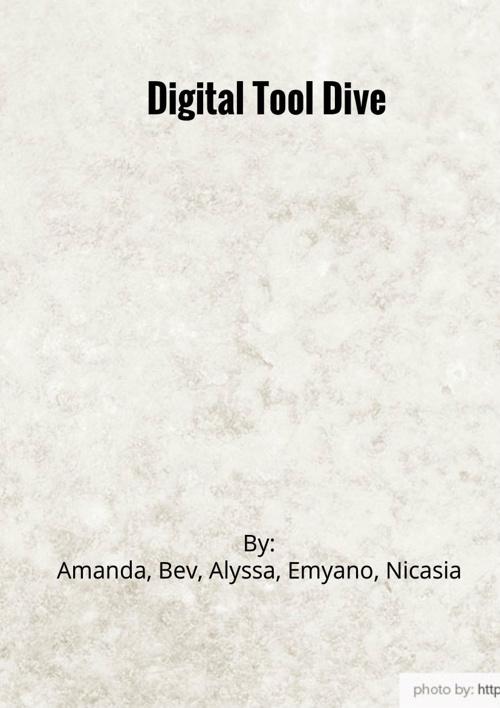 Digital Tool Dive