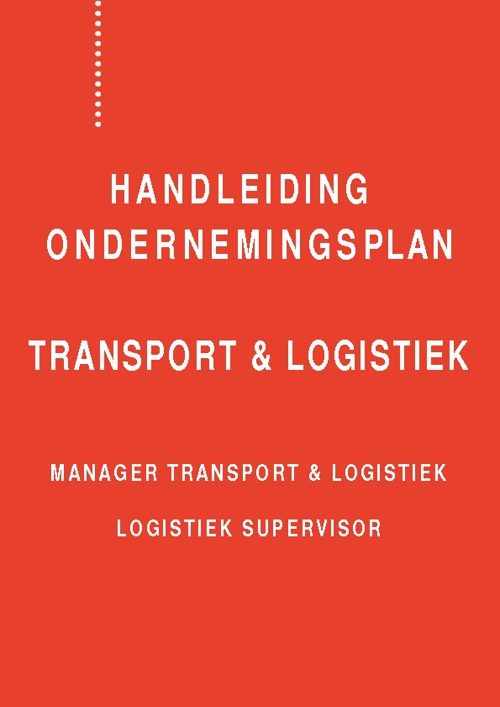 Handleiding Ondernemersplan Flipbook