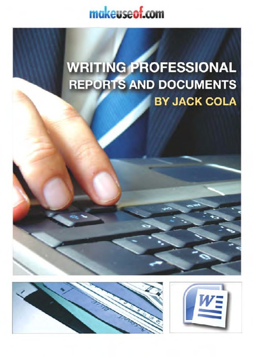 Writing Professional Reports and Documents