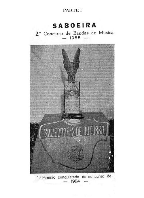 Contribuição para a História da Saboeira – Primeiro Centenário