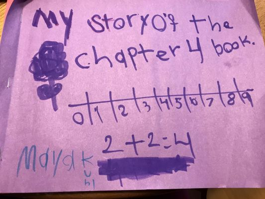 Maya's Story of the Chapter 4 Book