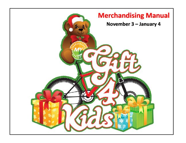Merchandising Manual