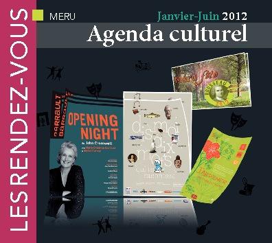 Agenda Culturel Méru _ Janvier/Juin 2012