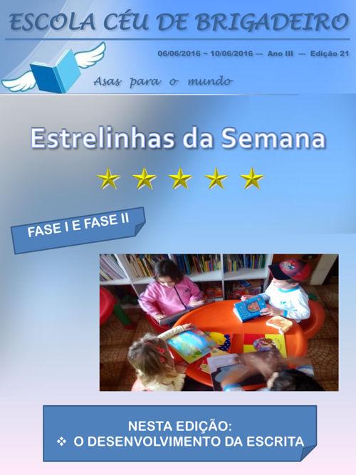 FASE I E FASE II EDIÇÃO 21