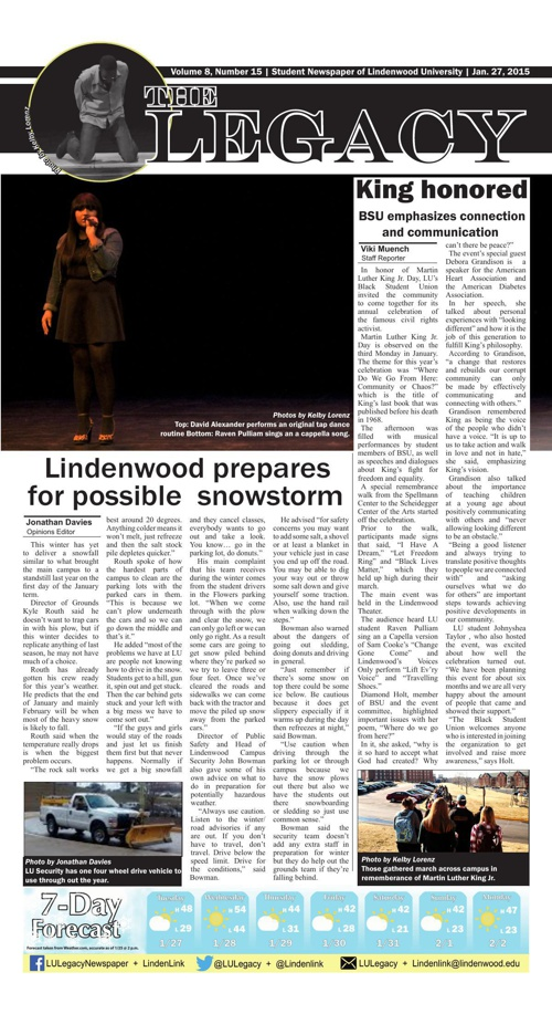 Legacy Jan. 27, 2015 issue