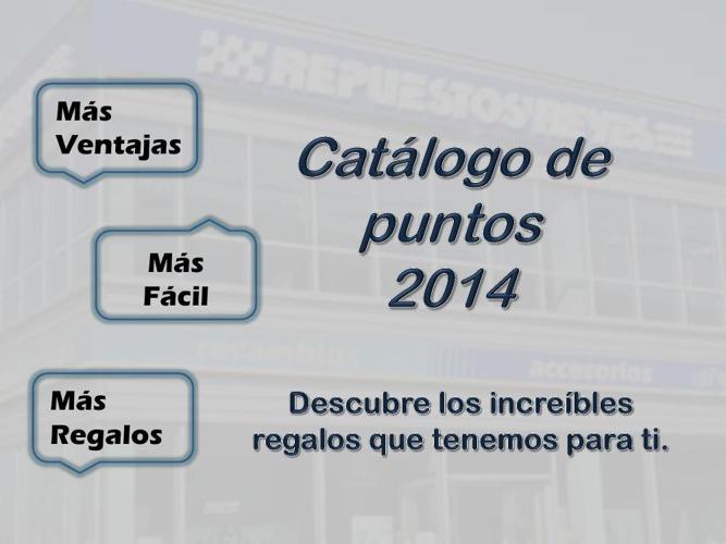 Catalogo para el cliente 2014
