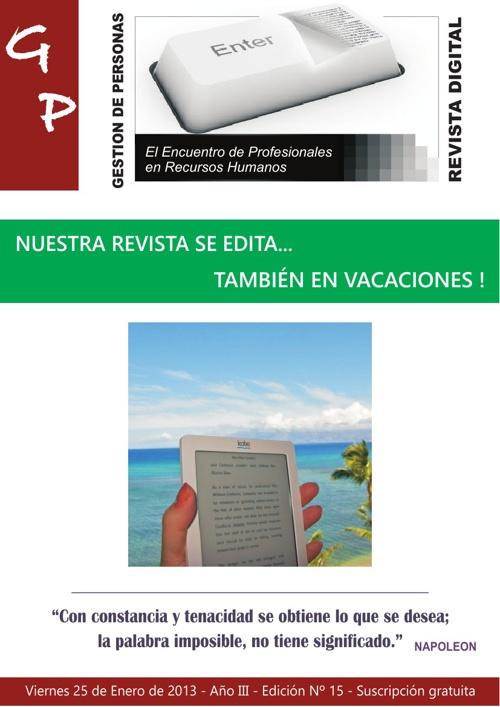 Gestion de Personas - Edición Nº 15 - Enero 2013