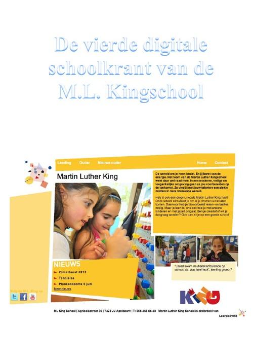 schoolkrant juli 2013 gr 1 2 3 8