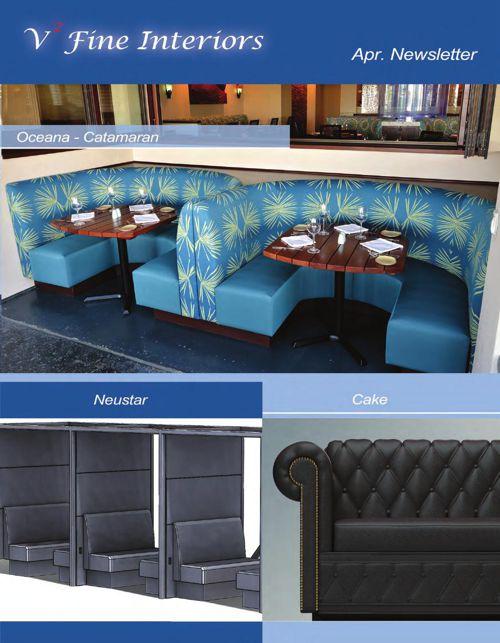 V2 Fine Interiors April Newsletter