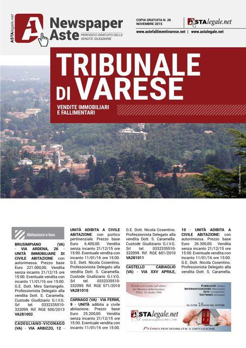 Varese novembre 2015