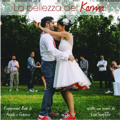 """La bellezza del Karma"" - Wedding Book Angelo e Federica"