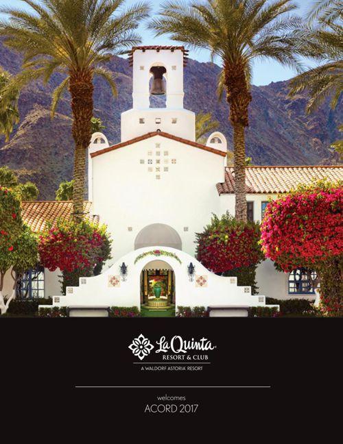 ACORD 2017 at La Quinta Resort