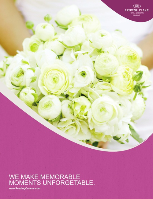 Wedding Menu Booklet