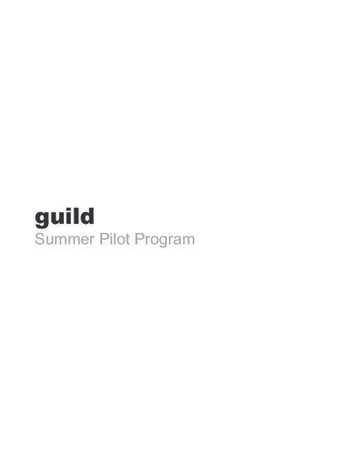 Guild Mentors