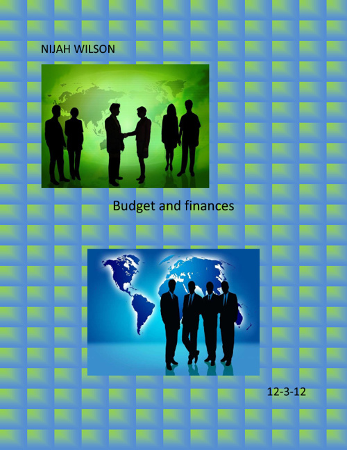 Nijah Wilson Budget and Finance