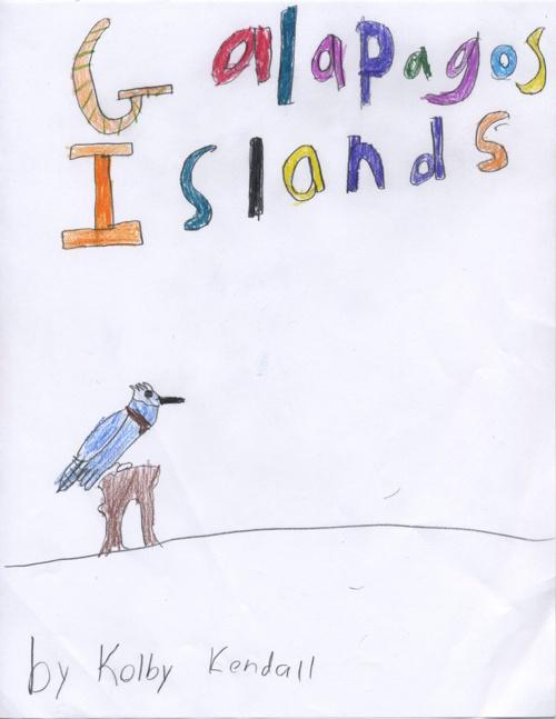 Kolby Kendall's Galapagos island E book