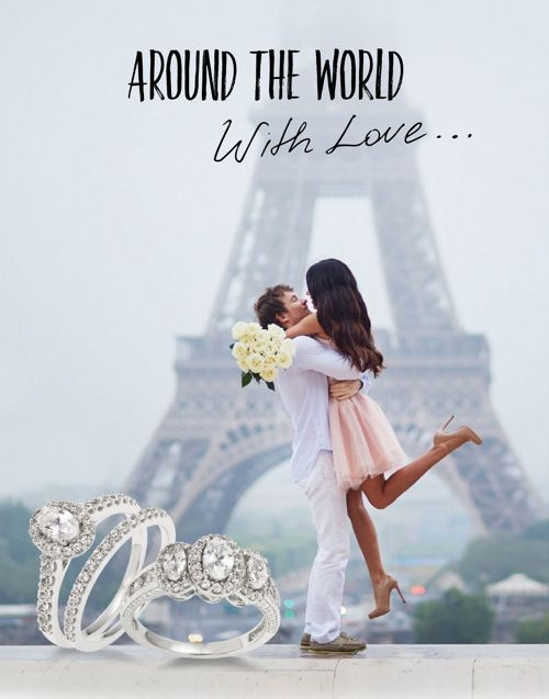 Around the World Bridal Book for Beth's Jewelry
