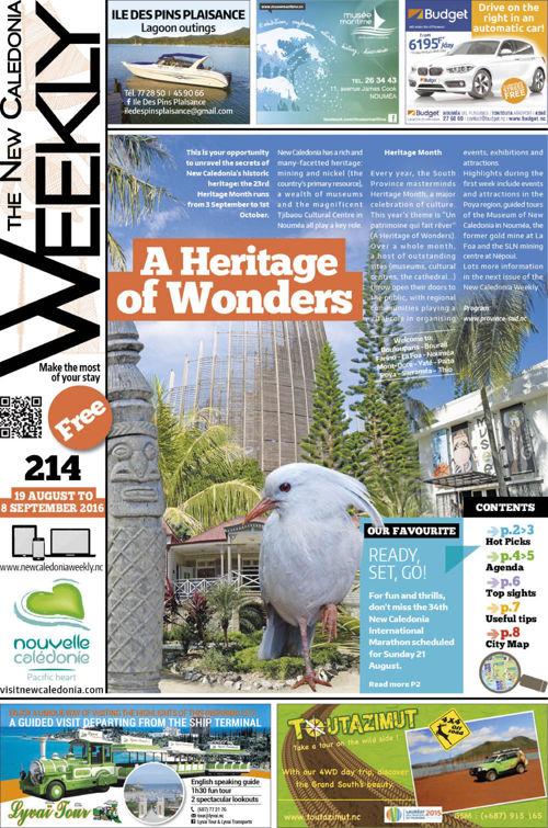 Weekly N°214 19 August- 08 Sept