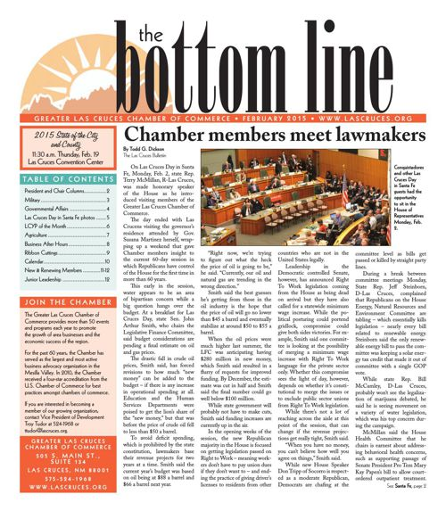 The Bottom Line February 2015
