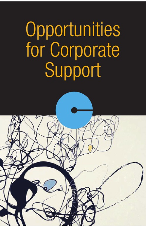 Opportunities for Corporate Support