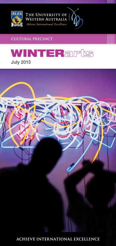 UWA WINTERarts 2013 - Cultural Precinct
