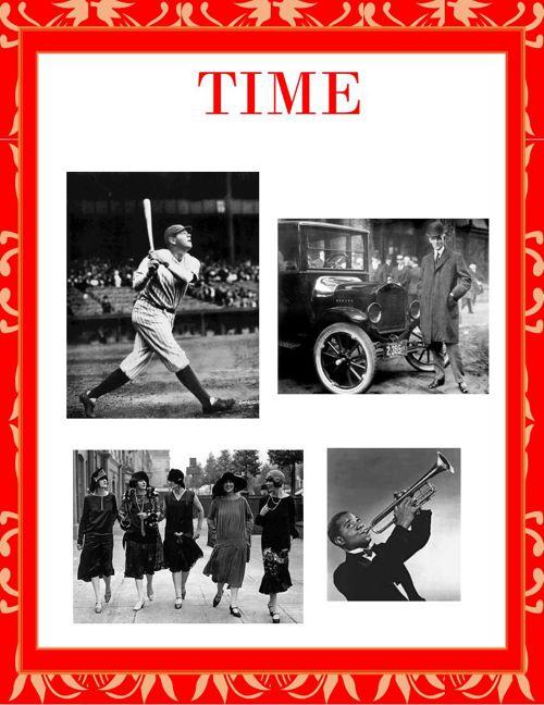 1920's Time Magazine