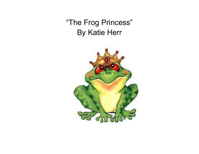 """""""The Frog Prince"""""""