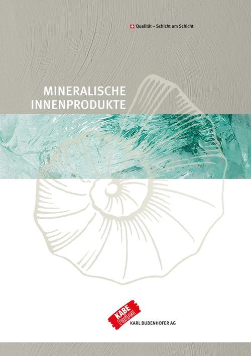 Mineralische Innenprodukte