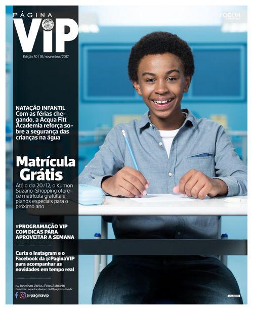 Leia ONLINE o caderno Página VIP de 18/11/2017