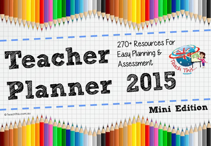 My Teacher Planner 2015 - Mini Edition