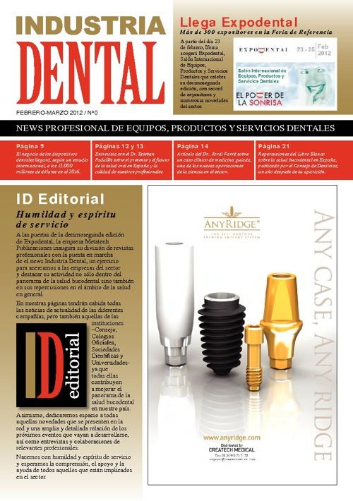 Nº0 Industria Dental - Febrero/Marzo 2012