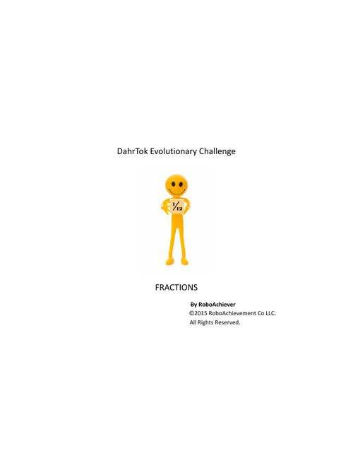 DahrTok Evolution 11-1-15