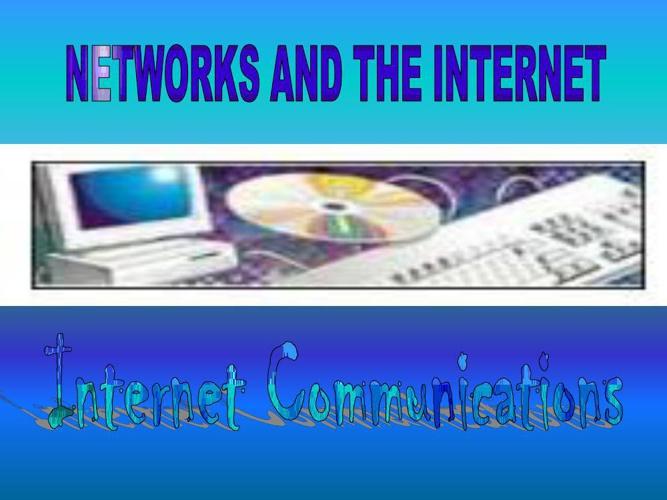 internet comunication