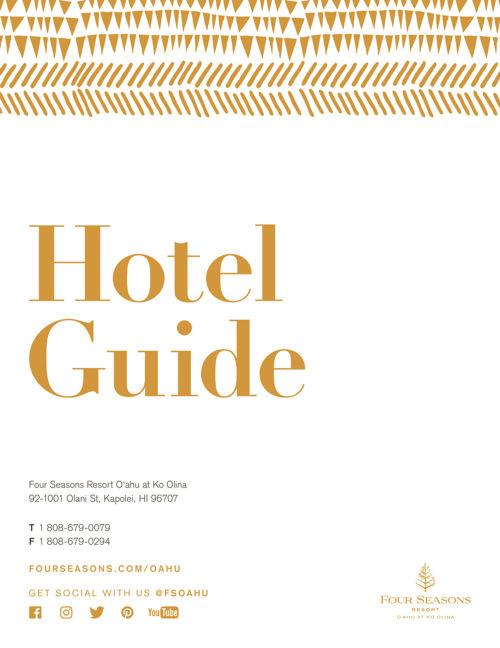 Four Seasons Resort O'ahu at Ko Olina - Hotel Guide