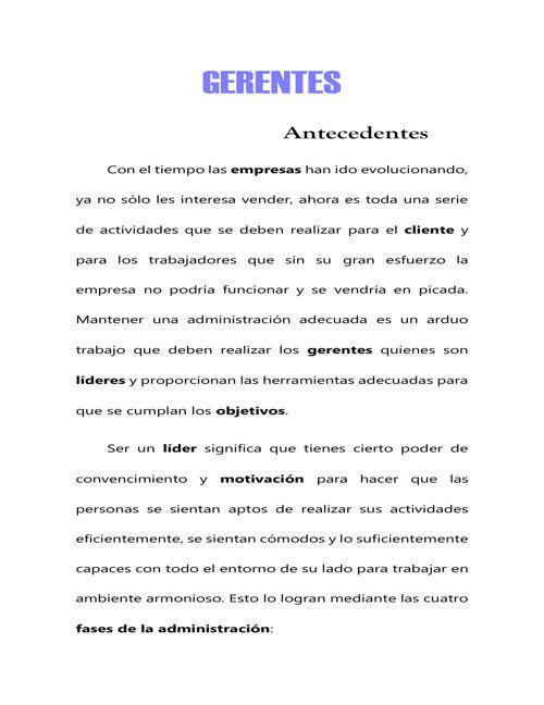 GERENTES PDF