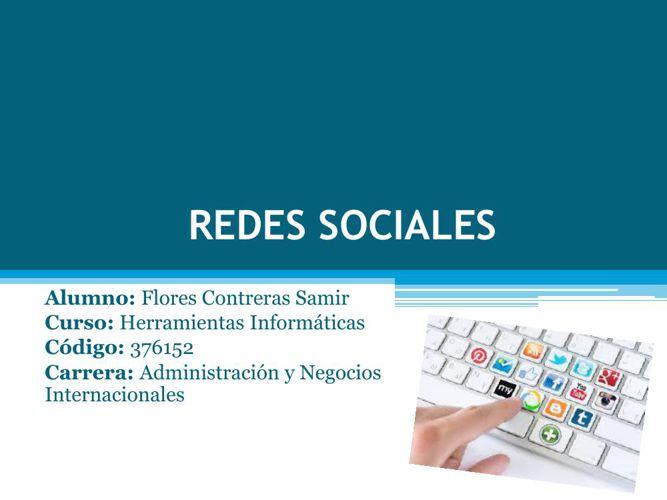 REDES SOCIALES-FLORES CONTRERAS SAMIR